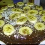Çikolata Soslu Muzlu Pasta Nasıl Yapılır? Çikolata Sosu Tarifi
