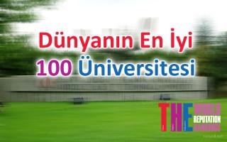 Dünyanın En İyi 100 Üniversitesi