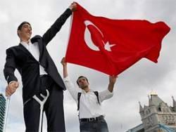 Dünyanın en uzun adamı Sultan Kösen