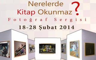 """""""Nerelerde Kitap Okunmaz"""" Fotoğraf Sergisi Marmara Üniversitesi'nde"""