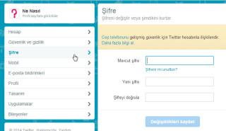Twitter Şifresi Nasıl Değiştirilir? Şifre Yenileme(Resimli Anlatım)